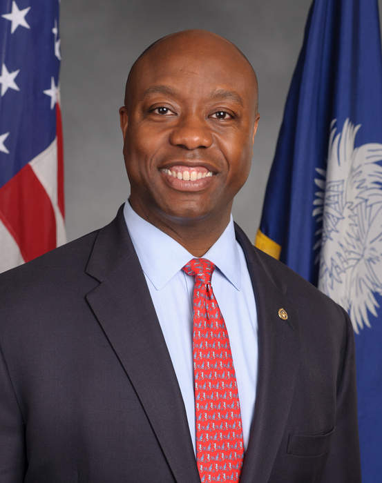 Tim Scott, sole black GOP senator, warns against