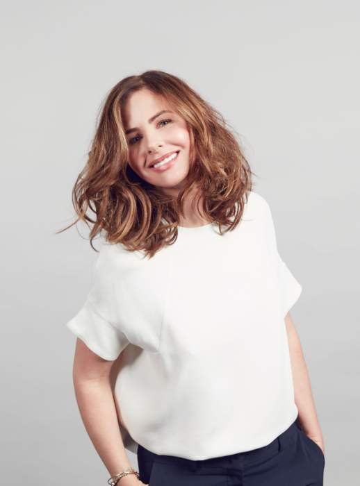 Makeover queen Trinny Woodall's 30-second trick to brighten your eyes