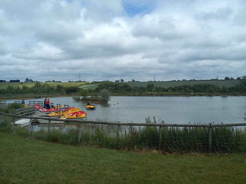 Theme park closes water play area after children 'violently sick'