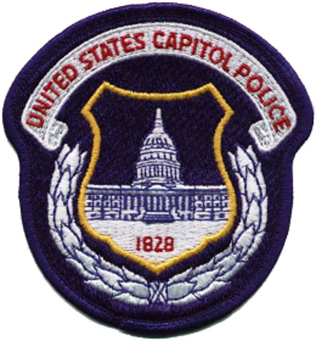 Capitol Police say 1 officer killed, 1 injured when car rams barricade