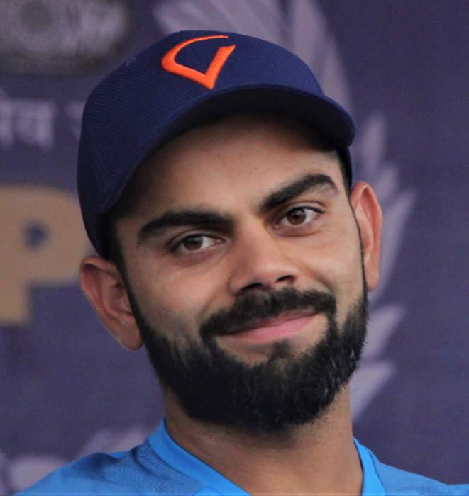 India v New Zealand: Kyle Jamieson takes wicket of Virat Kohli on final day