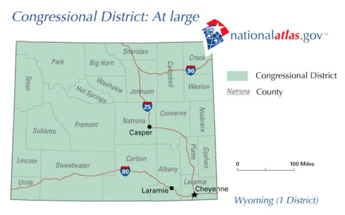 Wyoming's at-large congressional district