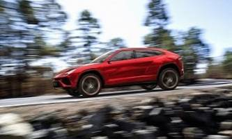 lamborghini executive: urus suv to be priced similarly to the huracan