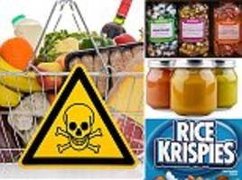 from arsenic in rice to toxic metals in sweets and veg . . . poisons in your shopping basket