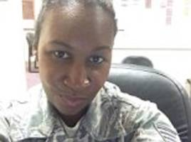 pictured - the veterans affairs officer ex-girlfriend of double cop killer who he gunned down in baltimore hours before cold-blooded execution in new york
