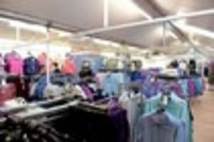see inside new edinburgh woollen mill store in grimsby- pictures