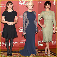 jennifer garner helps honor helen mirren at roundabout theatre company spring gala