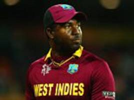 darren bravo set to return for west indies against england as chris gayle misses out on training squad with back problem
