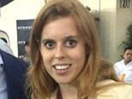 another week, another holiday for princess beatrice: royal in fourth trip in a month after visiting bahrain for the grand prix