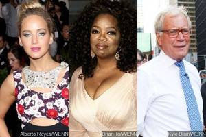 jennifer lawrence, oprah winfrey and more thank david letterman ahead of his final 'late show'