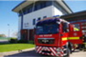 Fuse box fire: drama in Exeter this morning as crews race to...