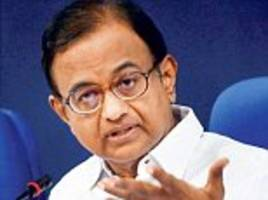 Chidambaram insists Congress is not 'anti-growth' and says BJP 'stole' schemes started by the last government
