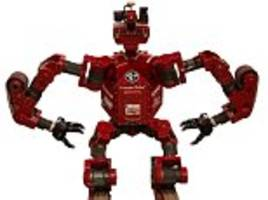 Meet CHIMP, the chainsaw wielding robot that can walk, climb walls and even transform into a TANK