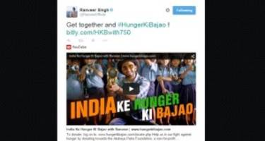 Feed a million school children in India with Ranveer Singh