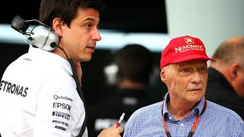 rivals, pundits aim up at mercedes
