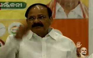 Congress trying to put obstacles in development process by opposing bills in Rajya Sabha: Venkaiah Naidu