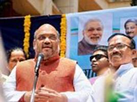BJP President Amit Shah says party WON'T insist on a nationwide beef ban