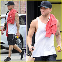 Ryan Phillippe Gets Down to Business With Trainer Happy Hill