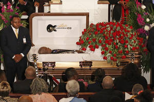 Fans say farewell as B.B. King laid to rest in Mississippi