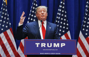 2016 us presidential elections: donald trump announces run for the white house