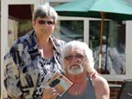 it's over! orbison fans, 68, threatened with asbos after playing country and western star's hits too loudly while they sat in their garden during fine weather