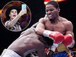 shawn porter survives late knock down to score impressive points win over adrien broner