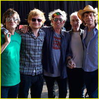 Ed Sheeran Performs With The Rolling Stones in Kansas City - Watch NOW!