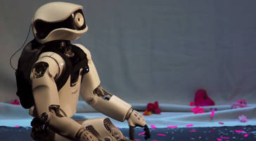 Teaching a robot to feel, live on the opera stage