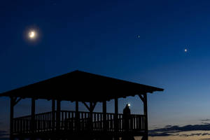 Jupiter and Venus will look like a dazzling double star in sky tonight