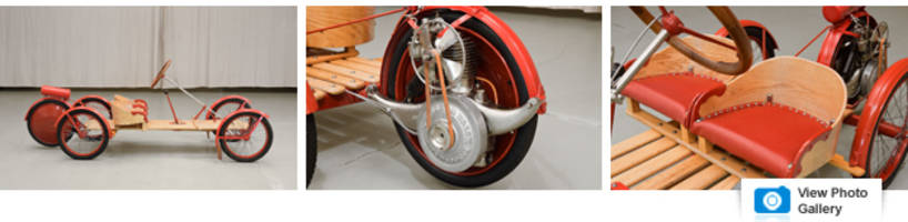 own this pristine, 100-year-old go-kart