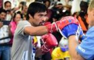 Manny Pacquiao gears up for serious post-surgery rehab