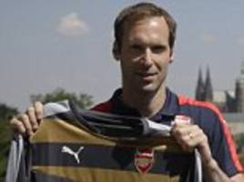 petr cech did not want to waste more time sat on the chelsea bench as he gears up for an exciting new chapter with arsenal