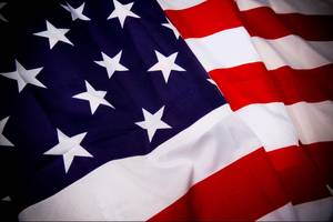 Teacher fired after stepping on American flag in class