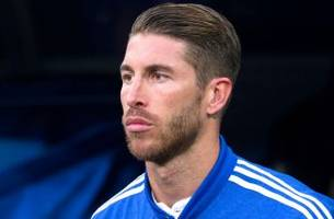 Ex-Real Madrid president Calderon says Ramos wants to join United