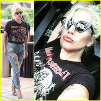 Lady Gaga Jets Out of New York City Without Showering