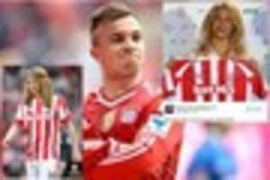 Stoke City: Shaqiri Twitter meltdown sees Potters 'linked' with...