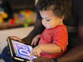iPads can be used by more than half of toddlers when they are just ONE