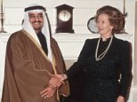 Margaret Thatcher jibed as 'oily to kings' for apology to Saudis over BBC report