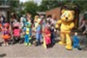 Monster invasion for charity at Pennywell Farm