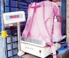 Thane: 'School's attempt to reduce bag weight is a burden on us,' claim parents