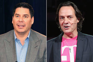 Sprint, T-Mobile chiefs duke it out on Twitter