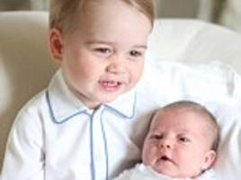 Royal family may have to watch Princess Charlotte's christening on TV like everyone else as only ONE relative is set to be named as godparent