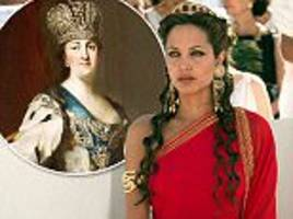 angelina jolie gets film rights for catherine the great's love trysts in winter palace sauna