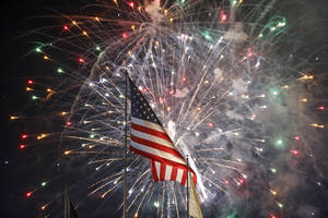 Man dies instantly after launching firework off head
