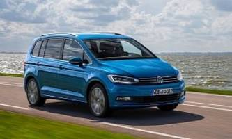 All-New Volkswagen Touran Looks Sharper than a Picasso in Latest HD Photos