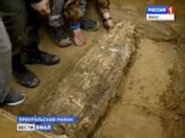 Riddle of the medieval 'mummy' discovered in Siberia: Child from unknown Arctic civilisation found wrapped in birch bark