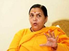 BJP leaders at war: Water Minister Uma Bharti blasts Madhya Pradesh Chief Minister Shivraj Singh Chouhan over 'botched' Vyapam scam probe