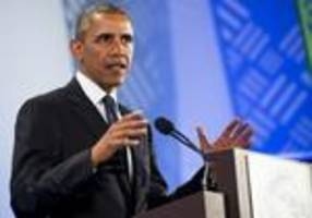 US President Obama says 'Africa is on the move'