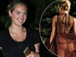 Kate Upton looks like a college student while out in Los Angeles