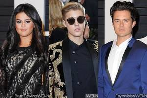 Selena Gomez NOT in 'Love Triangle' With Justin Bieber and Orlando Bloom